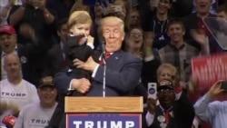 El lado más cariñoso de Donald Trump