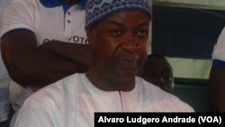 Nuno Gomes Nabiam, candidato presidencial na Guiné-Bissau