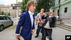 Luka Modrić dolazi u sud u Osijeku, 13. juni 2017.