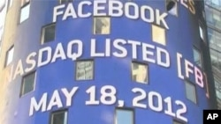 Facebook's Stock Debuts on Wall Street