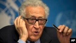 聯合國調停人卜拉希米在日內瓦會見敘利亞交戰雙方而無結果。