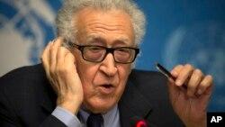 라크다르 브라히미 유엔-아랍연맹 특사. (자료사진)