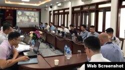 Khóa tập huấn SeaVision. Photo US Embassy Hanoi