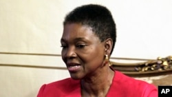 FILE - U.N. humanitarian chief Valerie Amos.
