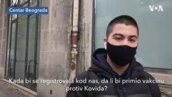 Da li bi građani primili vakcinu protiv Kovida 19 registrovanu u Srbiji?
