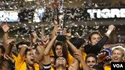 El Tigres regresó a la cima del fútbol mexicano 29 años más tarde.