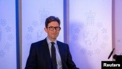 Ken McCallum, drejtori i përgjithshëm i shërbimit të kundërzbulimit britanik MI5 (Londër, 14 tetor 2020)