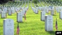Военное мемориальное кладбище в Арлингтоне. Вирджиния.