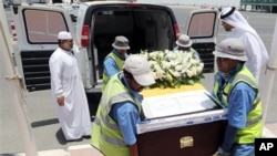 El féretro debe llegar esta noche a Ecuador y el funeral tendrá lugar mañana jueves en Quito.