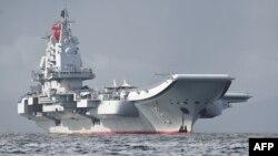 중국 항공모함 랴오닝호. (자료사진)