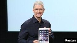 蘋果公司首席執行官蒂姆•庫克(資料圖片)