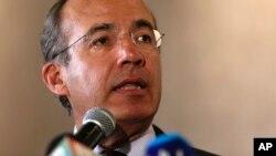 El expresidente mexicano Felipe Calderón abogó por la liberación de Leopoldo López durante reunión en Madrid.