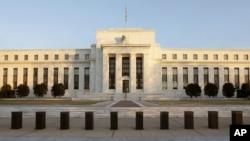 Archivo - Sede de la Reserva Federal en Washington D.C.