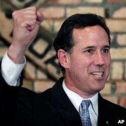Respublikachilardan prezidentlik uchun yana bir da'vogar Rik Santorum.