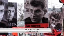 Moskvada Nemsov ustidan qotillik bo'yicha sud boshlandi