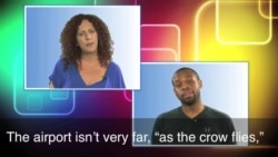 English in a Minute: As the Crow Flies