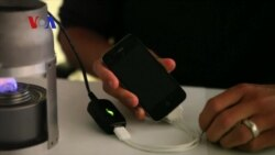 New Device Charges Phones with Candle Heat