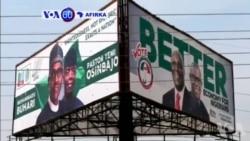 VOA60 AFIRKA: Shugaba Muhammadu Buhari Na Jam'iyyar APC Zai Kara Da Atiku Abubakar Na Jam'iyyar PDP, A Ranar Asabar 16 Ga Watan Fabrairu