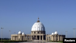 La monumentale basilique de Yamoussoukro, en Cote d'Ivoire. (Photo: Reuters)