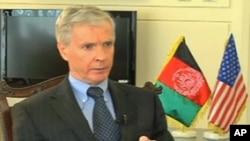 克羅克承諾不會拋棄阿富汗。
