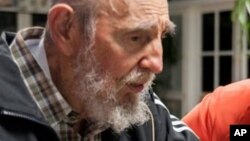Tsohon shugaban kasar Cuba, Fidel Castro.