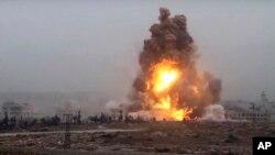 Eksplozija u severozapadnom delu Alepa pod kontrolom snaga sirijske vlade