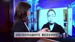 VOA连线:台湾太阳花学运遍地开花 中国网民如何看台湾太阳花学运