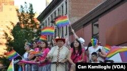 Parade Tahunan Mendukung hak-hak sipil LGBT di New York. (Foto:Dok)