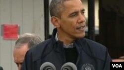 美国总统奥巴马祝贺习近平(美国之音视频截图)