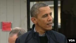 美國總統奧巴馬祝賀習近平(美國之音視頻截圖)