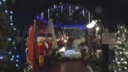 Дух рождества в Национальном рождественском центре