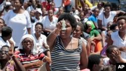 Une manifestation à Bujumbura, Burundi, 10 mai 2015.