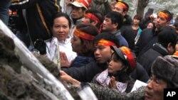 Biểu tình tại Hà Nội kỷ niệm 35 năm cuộc chiến chống Trung Quốc