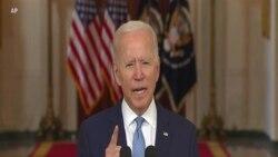 Biden: War in Afghanistan Is Now Over
