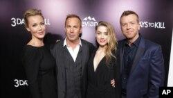 Connie Nielsen, Kevin Costner, Amber Heard dan sutradara McG