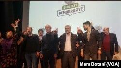 Danasîna Berbijarên HDPê li Stenbol