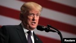 فائل: امریکی صدر ڈونلڈ ٹرمپ