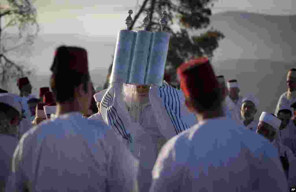 Nablusda nasroniylarning qadim bayrami