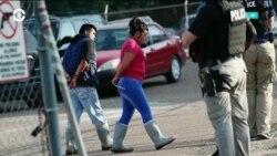 Массовый арест мигрантов в Миссисипи