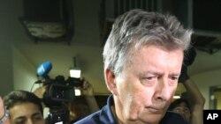 El inglés Raymond Whelan, de 64 años, es el director de Match Services, la empresa implicada en la trama de corrupción.