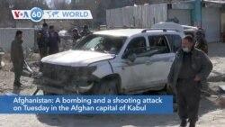 VOA60 Addunyaa - Kabul Deputy Governor Assassinated