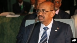 FILE - Sudanese President al-Bashir attends an African Union summit.