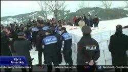 Shpërndarje e ndihmave për familjet në veri të Shqipërisë