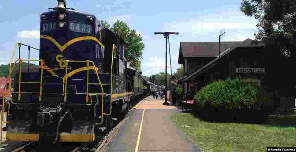 راهآهن هاکينگ ولی (دره هاکينگ) در ايالت اوهايو