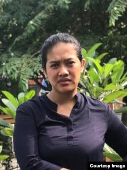 Siti Fauziah, aktris pemeran karakter Bu Tejo (dok. pribadi).