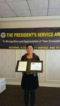[뉴스 풍경 오디오 듣기] 탈북자 돕는 탈북 여성 사업가, 오바마 자원봉사상 수상
