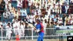 افتتاح ستدیدیوم میدان کریکت در افغانستان