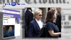 Trì hoãn công bố bệnh án, bà Clinton có nguy cơ đánh mất lòng tin của cử tri (VOA60)