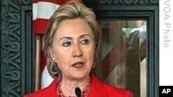 克林顿重申支持利比里亚