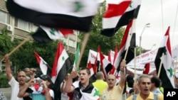 敘利亞鎮壓抗議者5人喪生。